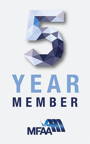 MFAA 5 Year Member